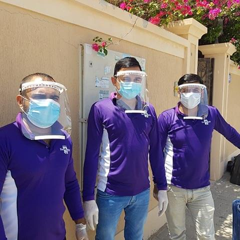 Face shields - 3D printing in uae