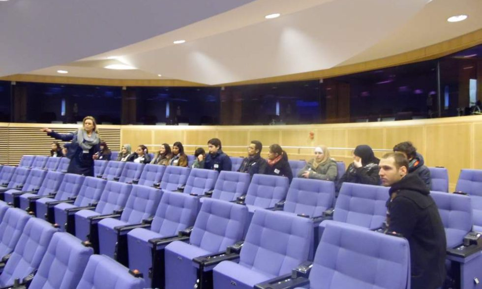 Visite du Parlement Européen