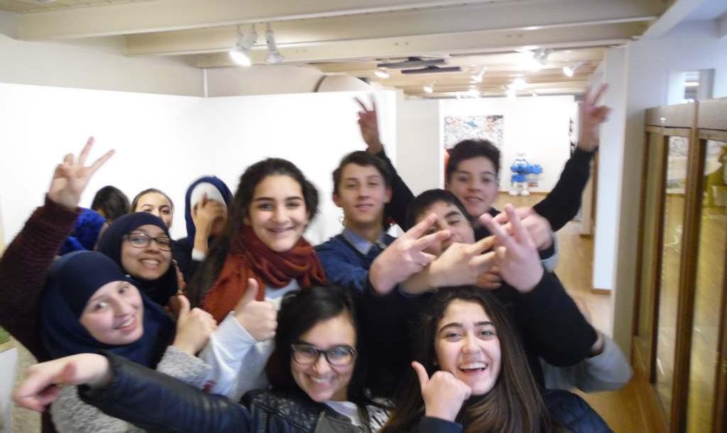 Visite du musée de la BD belge