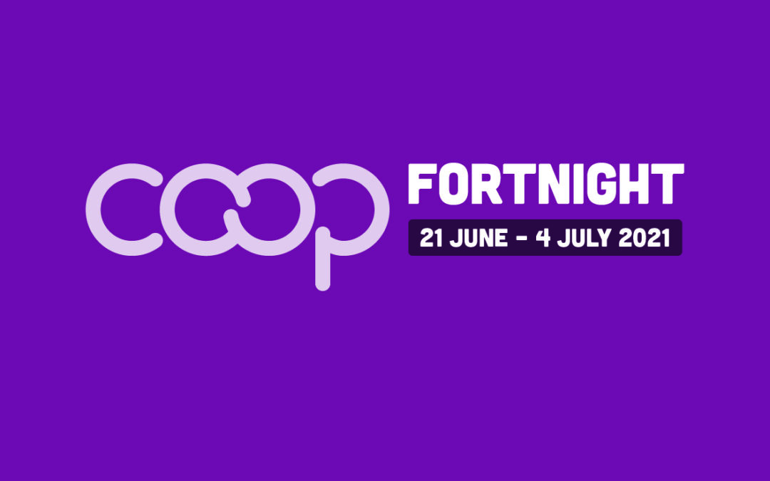 Co-op Fortnight 2021 encourages people to #JoinACo-op
