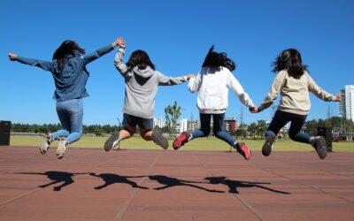 Photo of school children