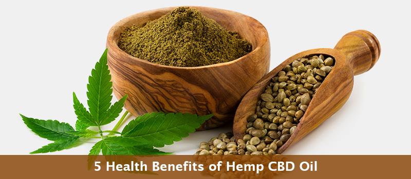 5 Best CBD Oil Benefits For Your Health & Wellness