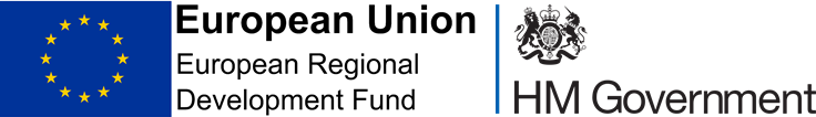 ERDF and HM Gov Logos
