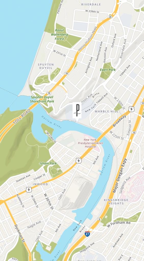 Location of THE PROMENADE 150 WEST 225
