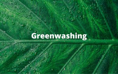 Greenwashing ¿Qué es?