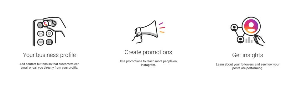 features that a Business Instagram account offers for free.