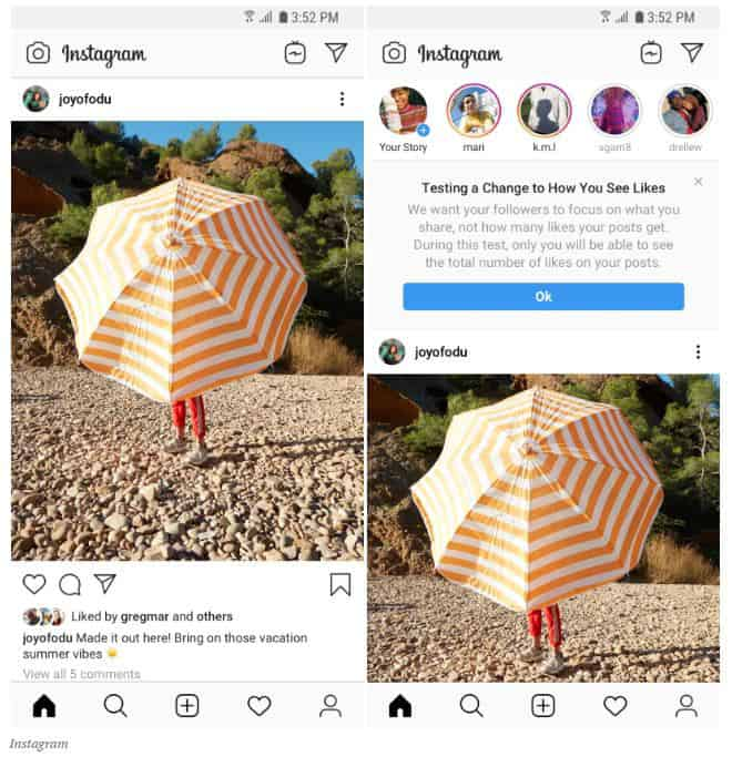 Instagram is hiding the number of likes and it is going global with the feature.