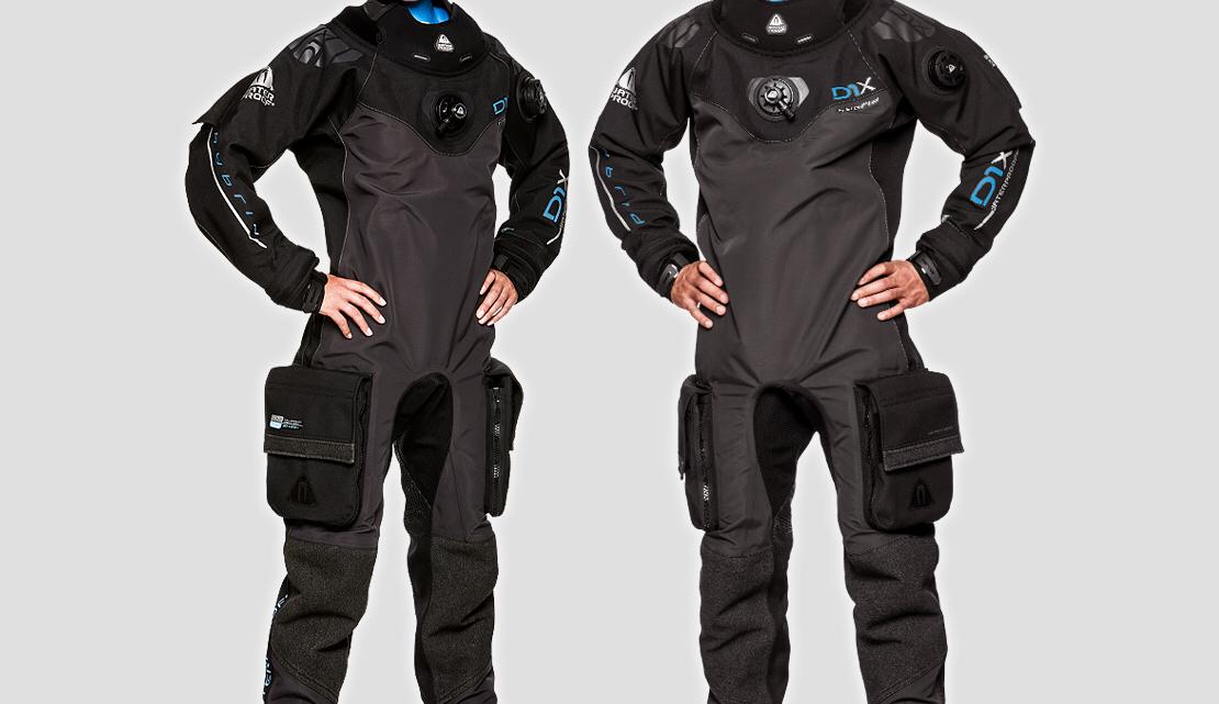 Drysuit Waterproof D1X Hybrid first dive