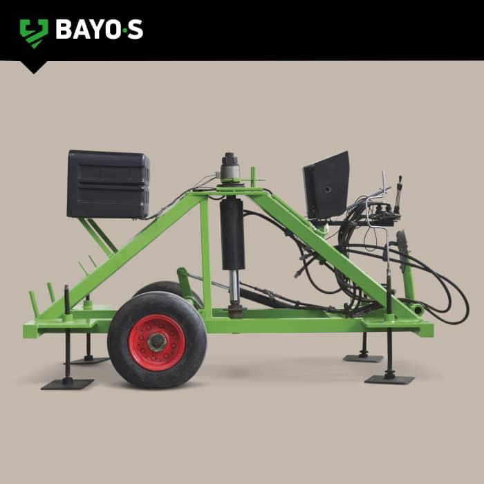 12 tonne hydraulic test rig
