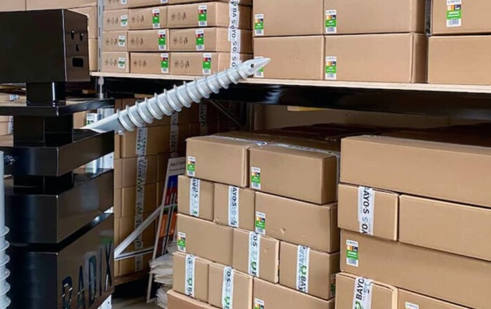 bayos radix partnership self-install ground screws