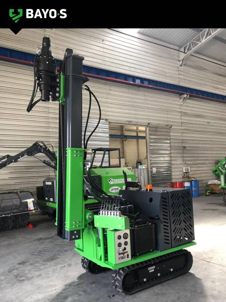 BAYO•S mazaka 400 crawler rig