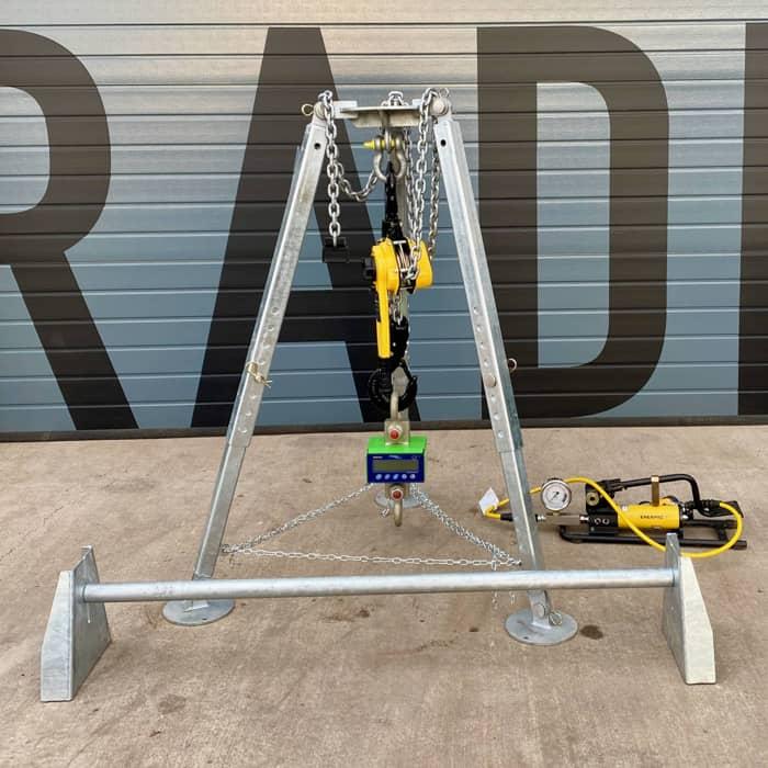 6t tripod tensile test kit