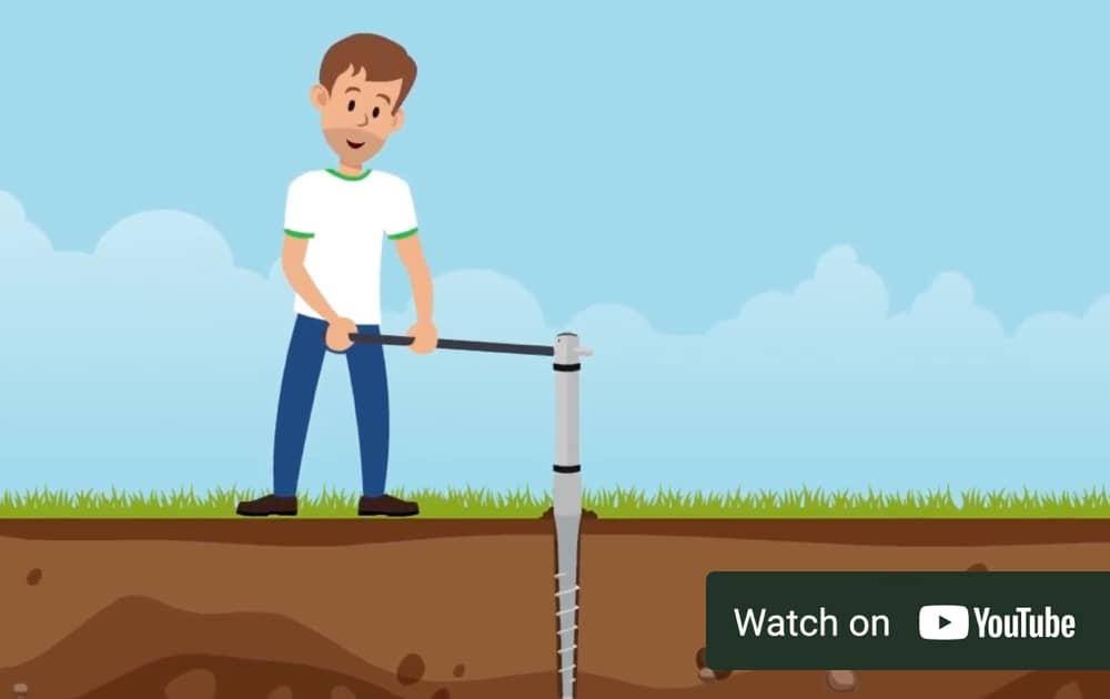 self-install ground screw foundations