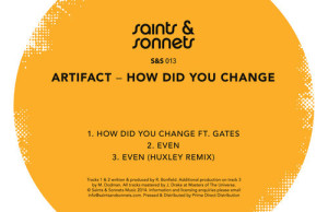 Artifact, How Did You Change, Gates, Huxley, Free, download, Free Download, MP3, Zippy, Zippyshare, Saints and Sonnets, House, Deep House, Soundspace