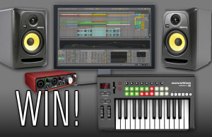Point Blank, Competition, Tech, Technology, Music Technology, Soundspace, Giveaway, KRK, Focusrite, Ableton