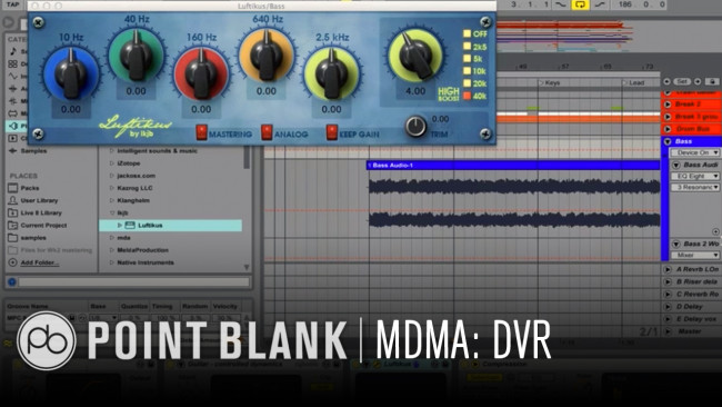 Mixing Dance Music in Ableton: DVR Example