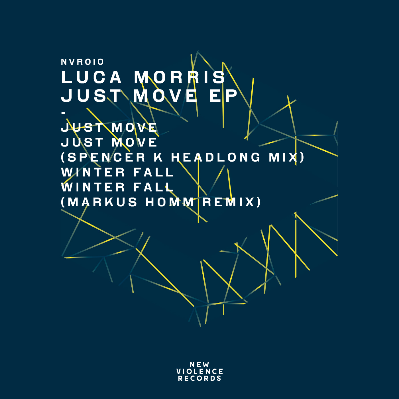 Lucas Morris, Winter Fall, New Violence Records, House, Techno, Tech House, Markus Homm, Remix, Soundspace, Premiere