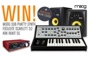Point Blank, Moog, Giveaway, Tech, Technology, Soundspace