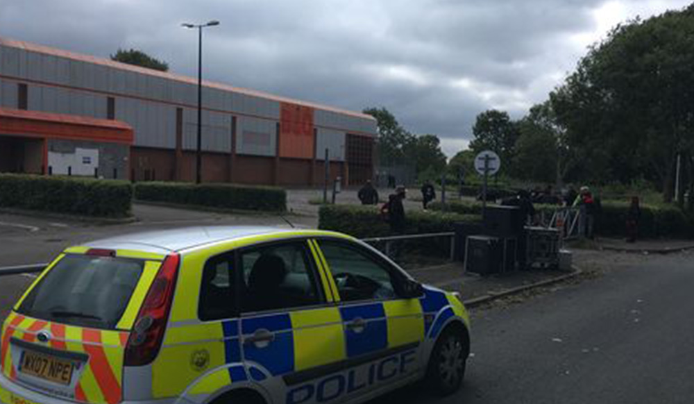 Police and ravers in 'stand off' at 16 hour party in abandoned B&Q