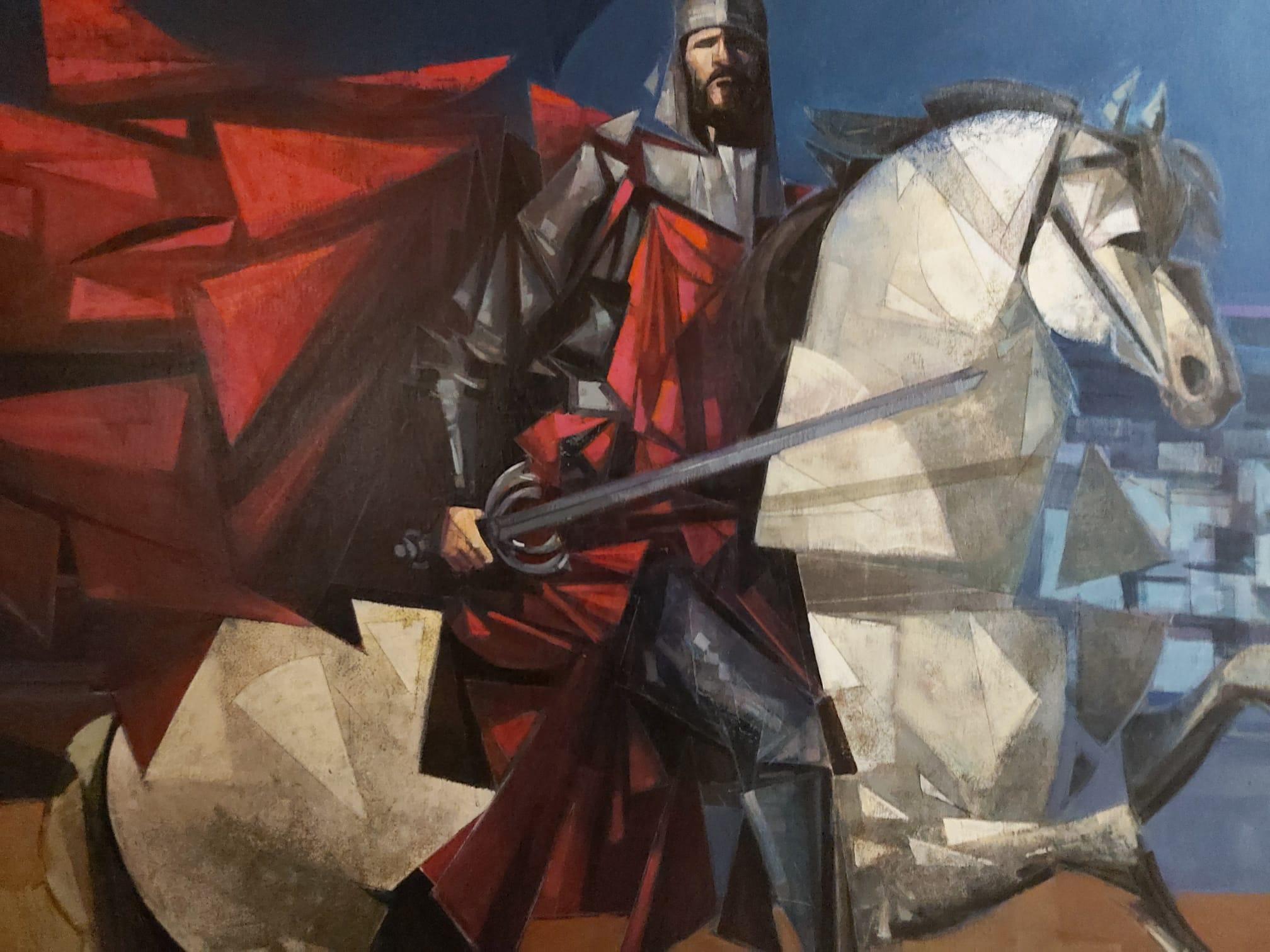 Juan López, Gran Pintor Neo-cubista del panorama presenta su nueva obra.