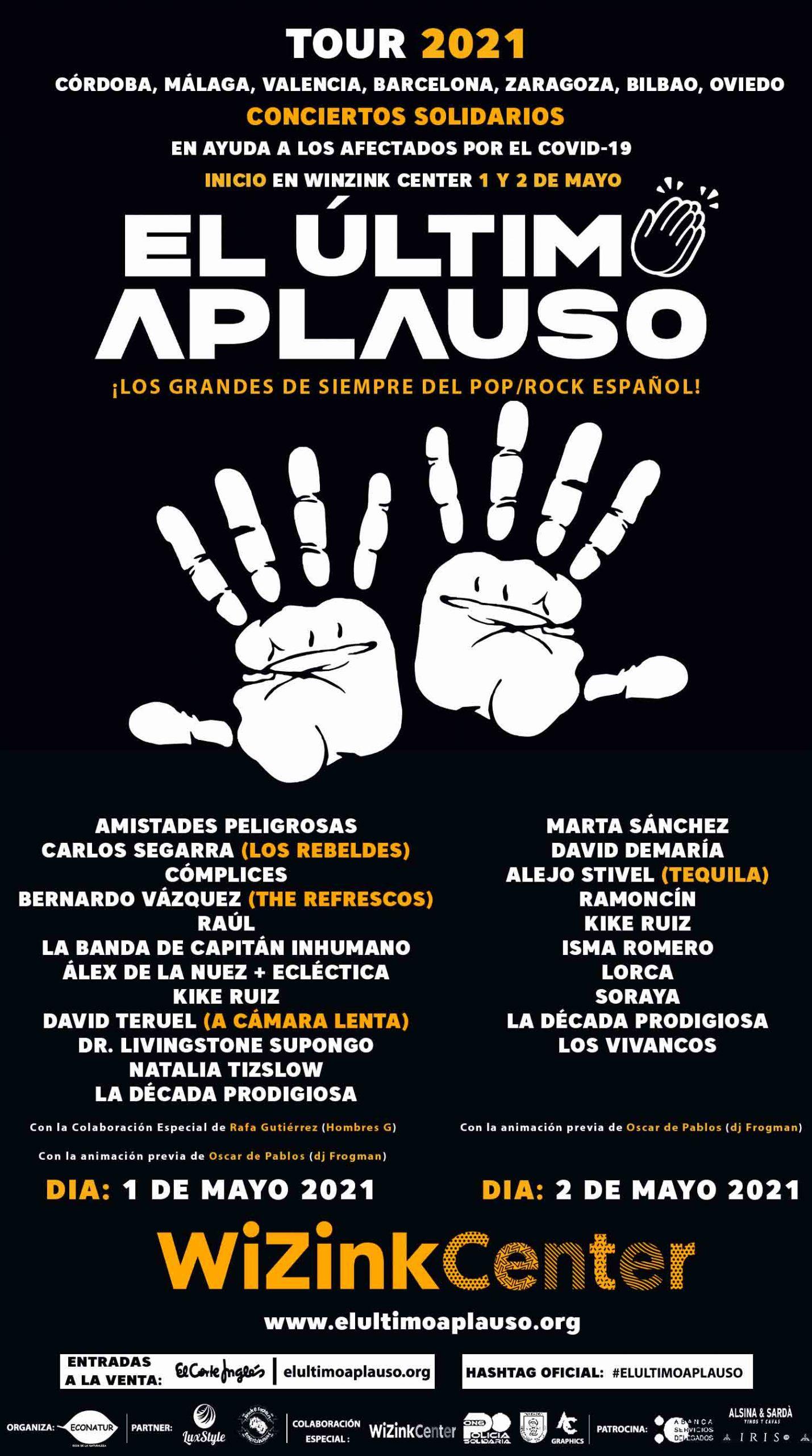"""NACE EL TOUR 2021 """"EL ÚLTIMO APLAUSO"""""""