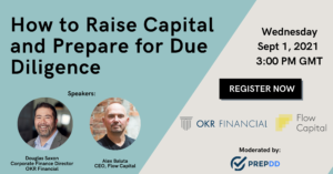 Flow Capital OKR Financial Webinar How to Raise Capital and Prepare for Due Diligence