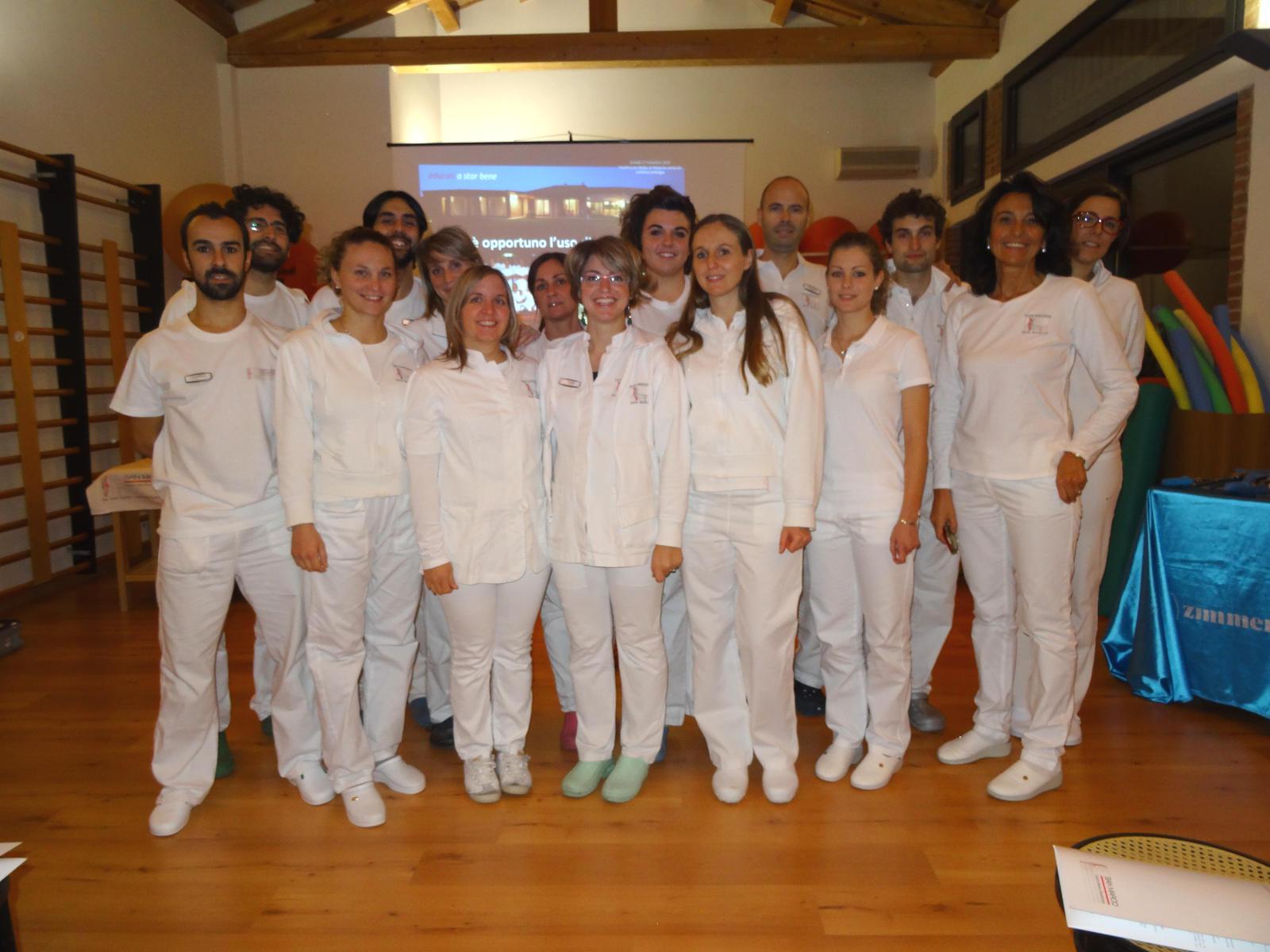 Lo staff del Centro San Marco Vicenza