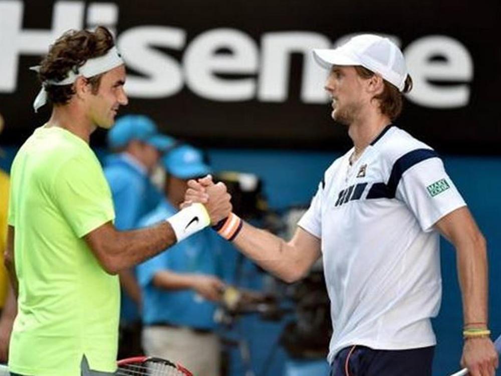 Andreas Seppi e Federer