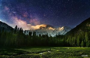 The Night Sky By Abeer Mushtaq Location: Rama, Gilgit Baltistan