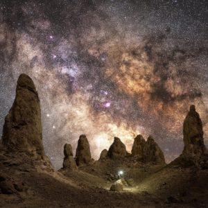 Landscape-astro-cityscape Location: Trona, Pinnacles