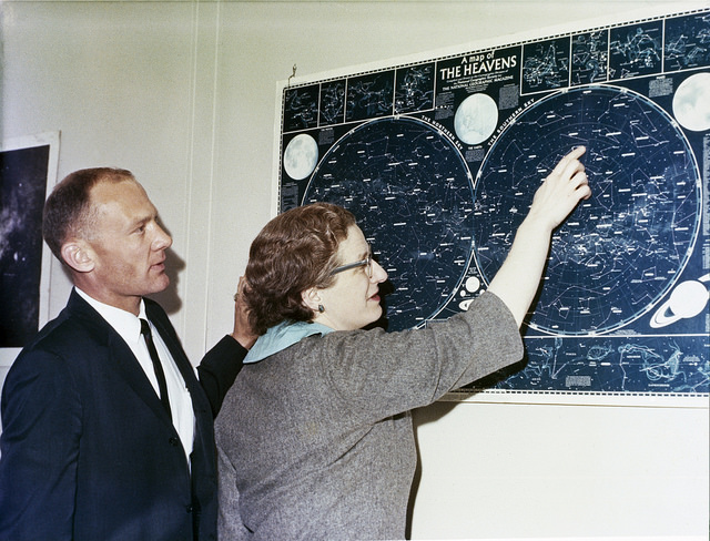 Nancy Roman, the mother of Hubble