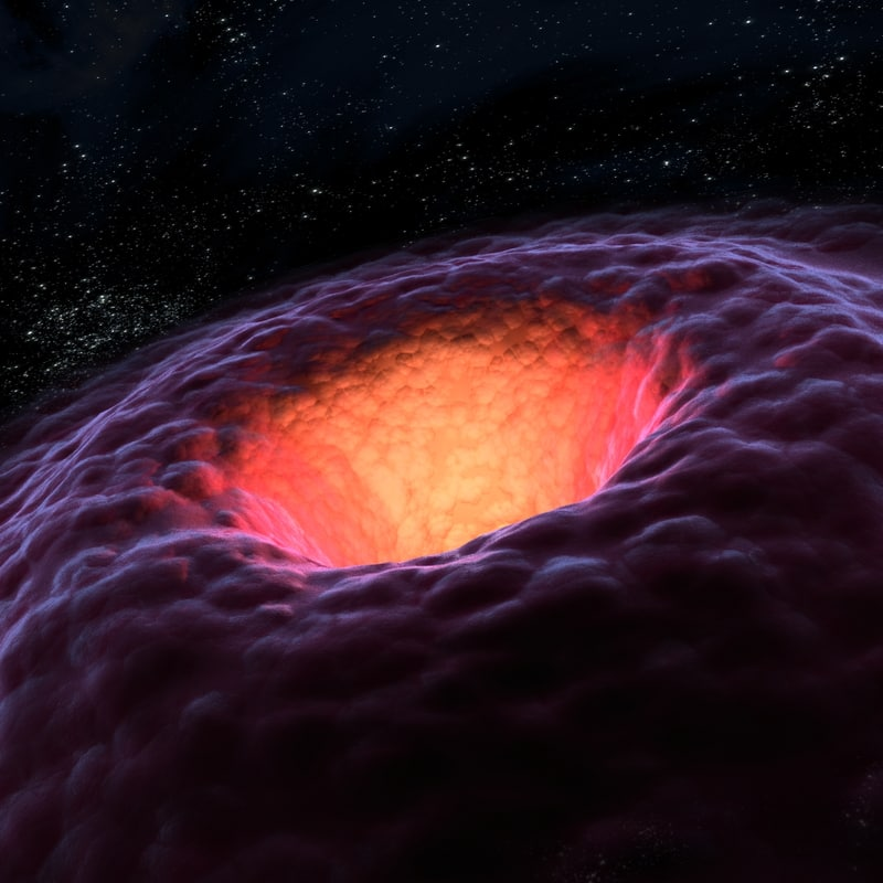 A wormhole is consistent with the general theory of relativity, but whether wormhole actually exists remains to be seen. A wormhole could connect extremely long distances such as a billion light-years or more, short distances such as a few meters, different universes, or different points in time.