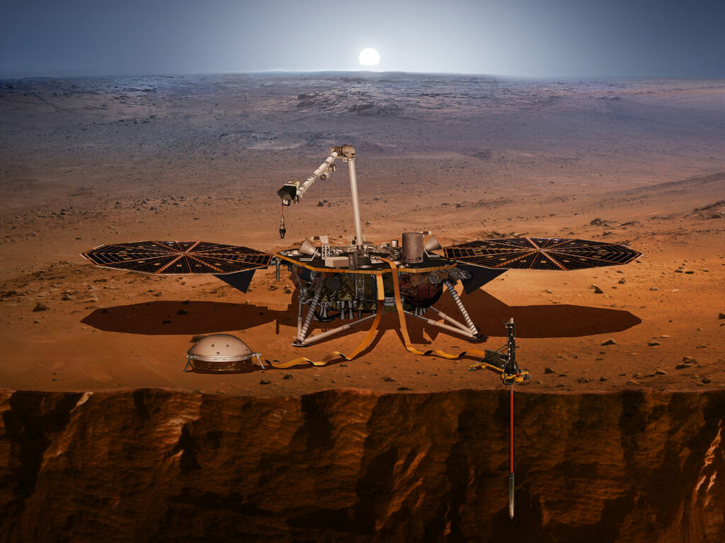 Surface analyzing, first step for colonizing Mars
