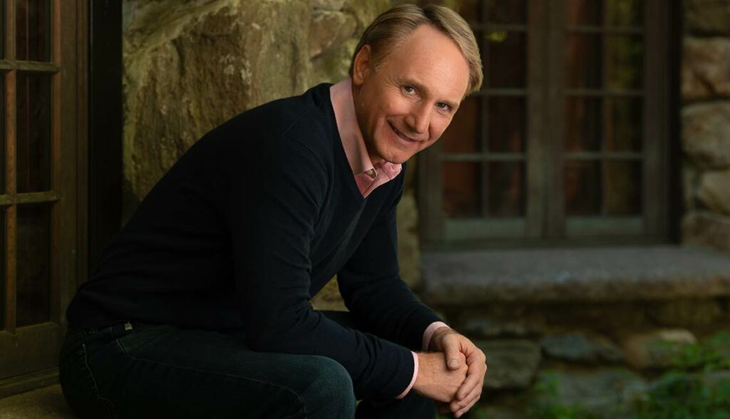 Dan Brown who is most famous for his Robert Langdon series