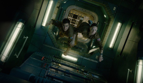 Safety Protocol calls by Miranda (played by Rebecca Ferguson) are almost ignored by the crew
