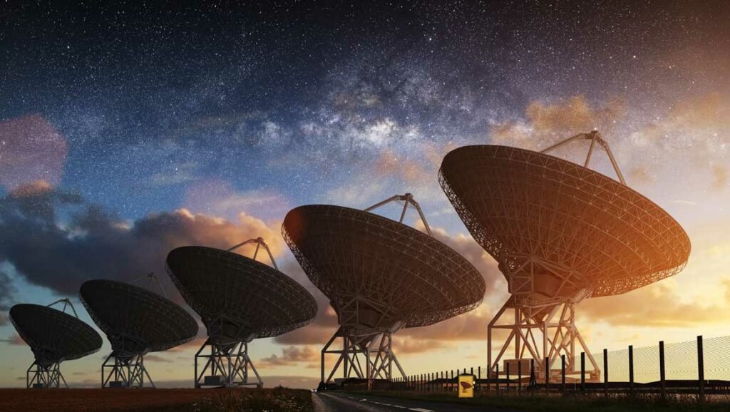 Seti aims to search for extraterrestrial life