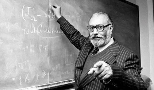 Dr. Abdus Salam during a classroom session