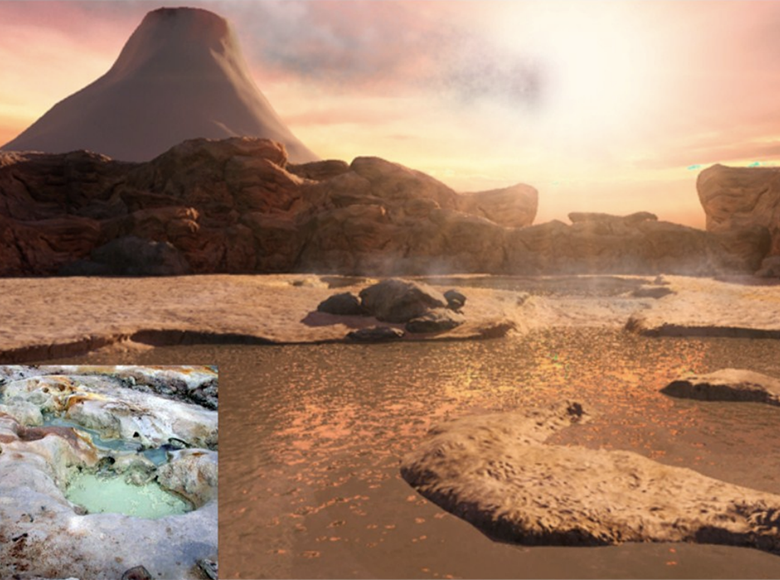Origin of life and evolution: hot spring hypothesis