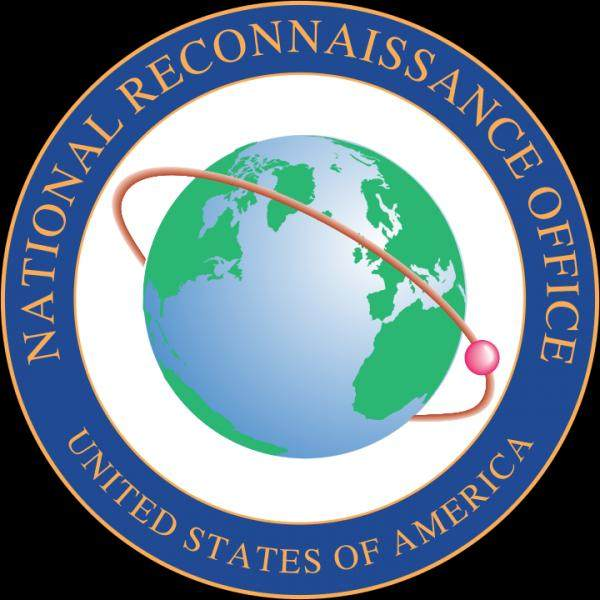 Logo of  NRO which is an agency of the US Department of  Defense, Deception point.