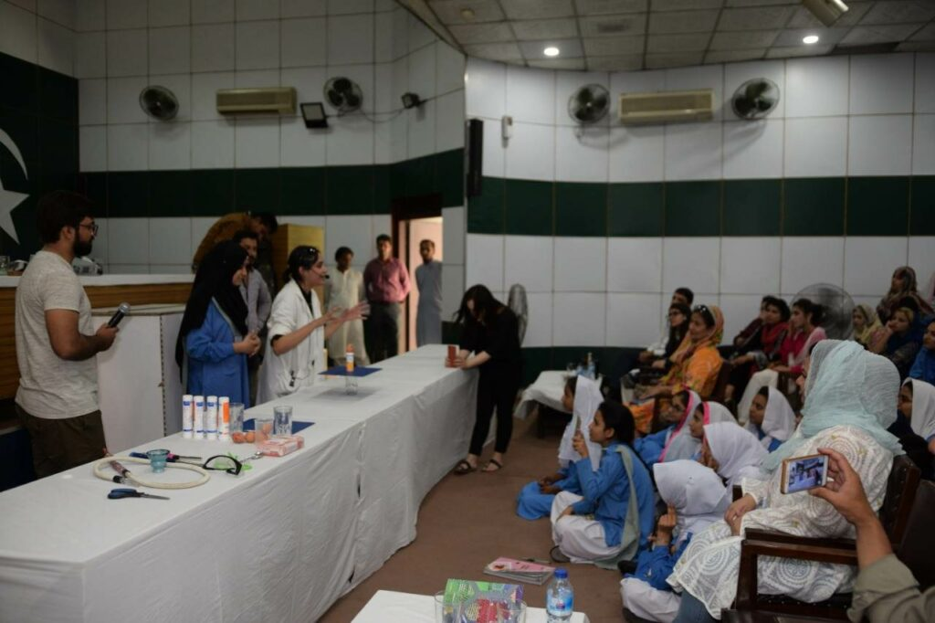 Science workshop organized by KSS