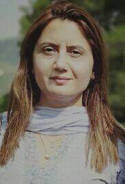 Dr. Abro, Pakistan's first female security analyst.