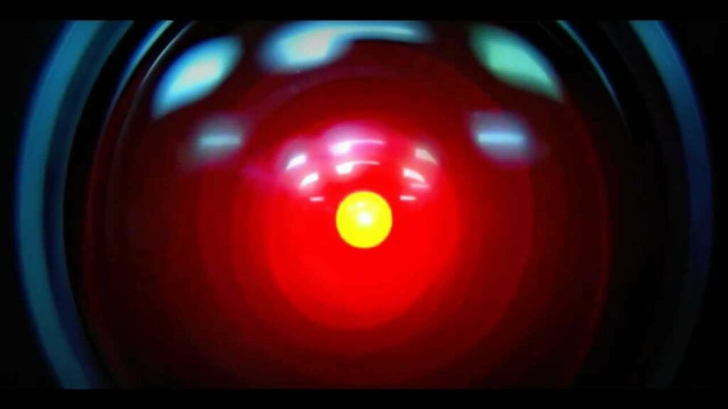 HAL 9000 was a robot featured in the movie 2001: A Space Odyssey