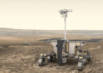 The ExoMars rover. Credit: ESA