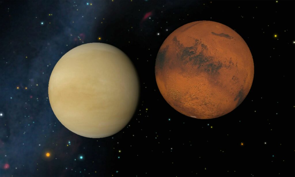 What makes the temperature of earth perfectly habitable but the atmosphere of other planets, harsh and uninhabitable?