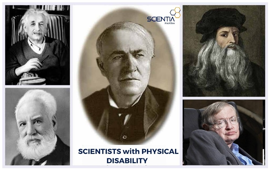 Scientists with physical disability
