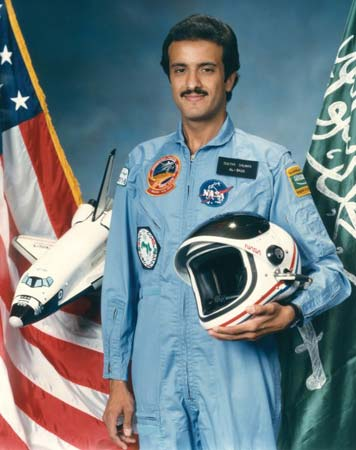 Sultan flew as a payload specialist on STS-51-G Discovery on June 17 through June 24, 1985.