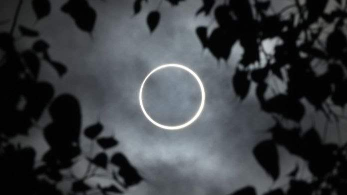 The rare ring of fire during Solar eclipse of 26th December 2019