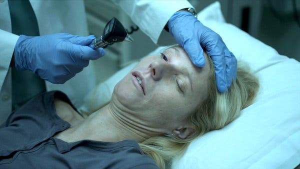 The film opens with a patient zero, in this case, Paltrow, as Beth Imhoff, on day two of the outbreak