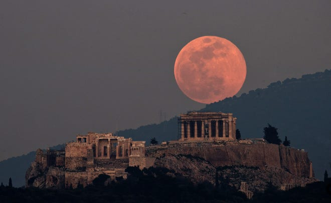 astronomy pink supermoon