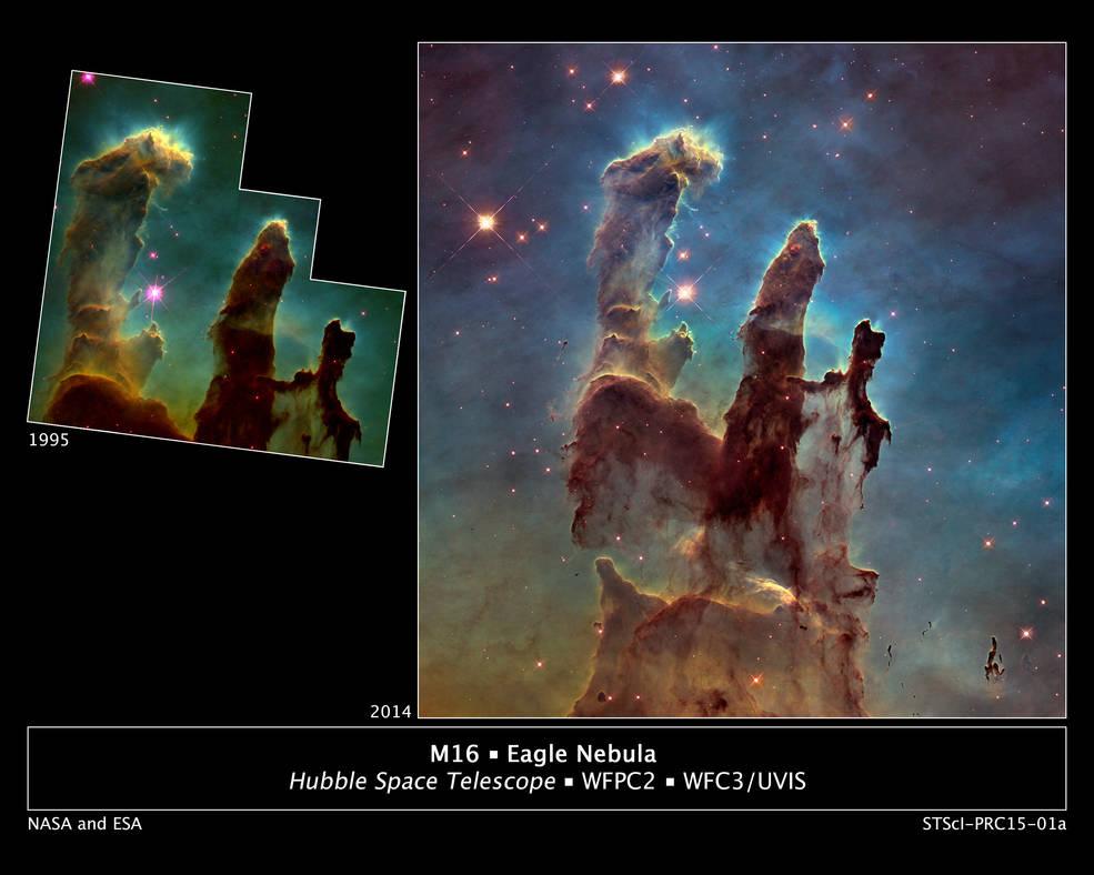 A sharper image taken in 2014. Credits: NASA/ESA/Hubble Heritage Team